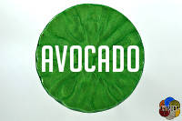 Avocado from the greens of EZ-Marble colors