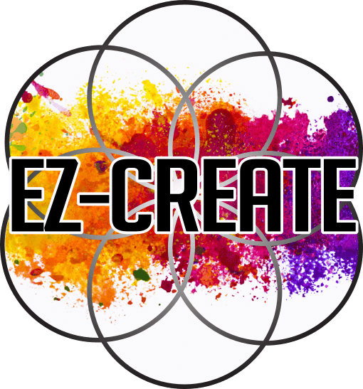 Logo for EZ-Create, epoxy artist kit