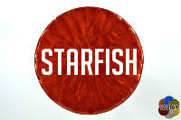 Starfish from the reds of EZ-Marble colors