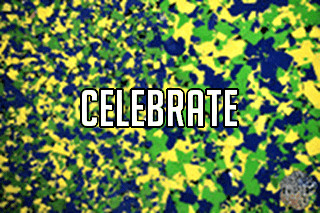 "EZ-Flake Colors Blend ""Celebrate"""