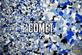 """EZ-Flake Colors Blend """"Comet"""""""