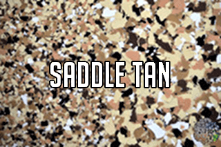 "EZ-Flake Colors Blend ""Saddle Tan"""