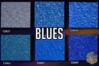 "EZ-Flake Solid Colors ""Blues 2"""