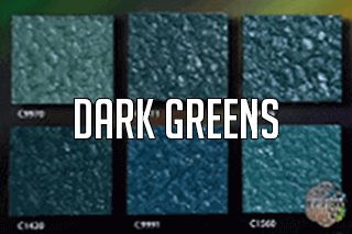 "EZ-Flake Solid Colors ""Dark Greens 1"" Color Blend"