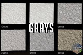 "EZ-Flake Solid Colors ""Grays 1"""