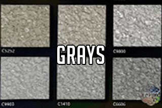 "EZ-Flake Solid Colors ""Grays 2"""