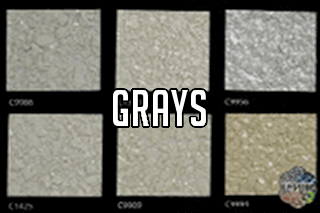 "EZ-Flake Solid Colors ""Grays 3"""