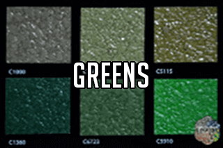 "EZ-Flake Solid Colors ""Greens 1"""