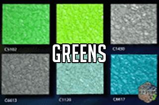 """EZ-Flake Solid Colors """"Greens 2"""""""
