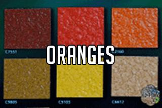 "EZ-Flake Solid Colors ""Oranges 1"""