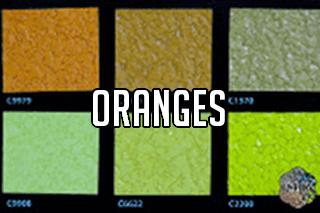 "EZ-Flake Solid Colors ""Oranges 2"""