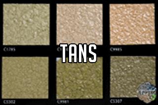 "EZ-Flake Solid Colors ""Tans 1"""