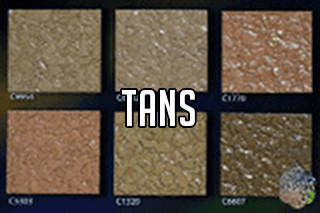 "EZ-Flake Solid Colors ""Tans 2"""