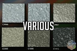 "EZ-Flake Solid Colors ""Various 2"""