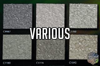 "EZ-Flake Solid Colors ""Various 4"""