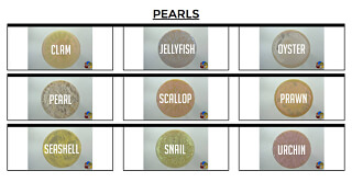 See EZ-Marble pearls colors family