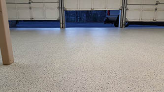 Inspire EZ-Flake: Garage flooring