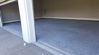 Inspire EZ-Flake: Indoors garage flooring